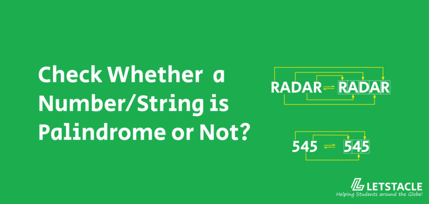 Java Program to Check Whether a Number String is Palindrome or Not