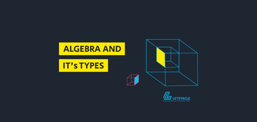 algebra in maths and its types