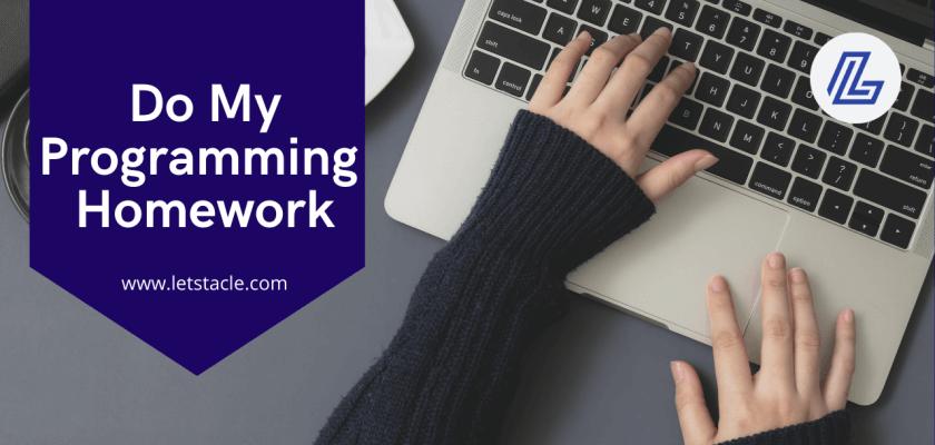 do my programming homework help