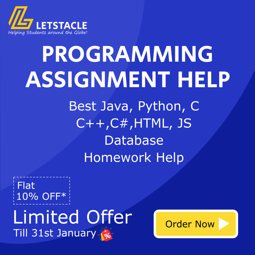 Programming Help offers at letstacle.com